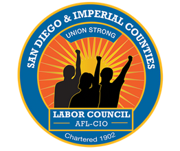 SD and Imperial Counties Labor Council logo